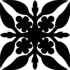 Hawaiian Quilt Tile 58 : HaoleKid