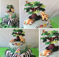 Awesome Jungle Party. See more party ideas at CatchMyParty.com #junglepartyideas