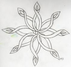 Celtic snow flake by Flintar on DeviantArt Celtic Symbols, Celtic Art, Celtic Knots, Celtic Mandala, Mayan Symbols, Celtic Dragon, Egyptian Symbols, Ancient Symbols, Embroidery Patterns