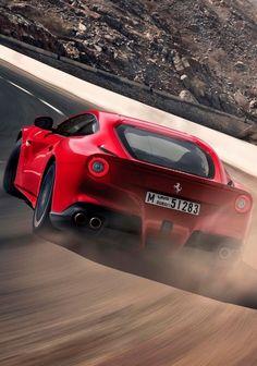 Ferrari Berlinetta in action. Ferrari F430, Ferrari F12berlinetta, F12 Berlinetta, Expensive Cars, Car Manufacturers, Car Photos, Fast Cars, Sport Cars, Exotic Cars