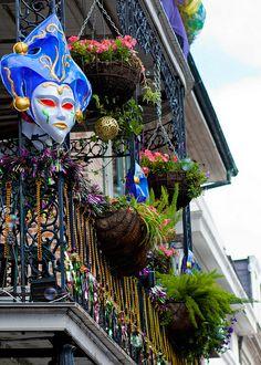 Mardi Gras Balcony | Flickr - Photo Sharing!