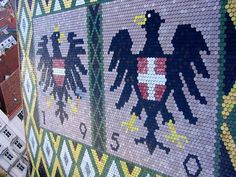 Insidertipps Wien Stephansdom Dach Doppeladler - 1 Vienna Austria, Quilts, Blanket, Projects, Viajes, Tips, Patterns, Log Projects, Blue Prints