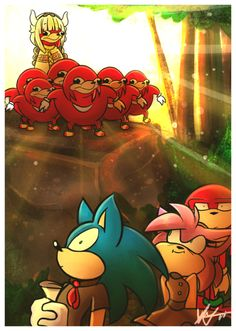 See more 'Ugandan Knuckles' images on Know Your Meme! Sonic The Hedgehog, Shadow The Hedgehog, Sonic Funny, Pokemon, Sonic Franchise, Sonic Fan Characters, Sonic And Shadow, Sonic Fan Art, Anime Meme