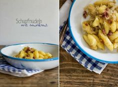 SaskiarundumdieUhr: Schupfnudeln mit Sauerkraut