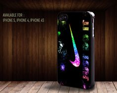 iphone case062 Just Do It Nike Colorfulliphone by rainbowcaseshop, $15.99