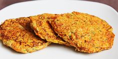 Panquecas de Zapallo Italiano Carrot Pancakes, Stuffed Sweet Peppers, 1 Egg, Carrots, Snacks, Ethnic Recipes, Food, Youtube, Pancake