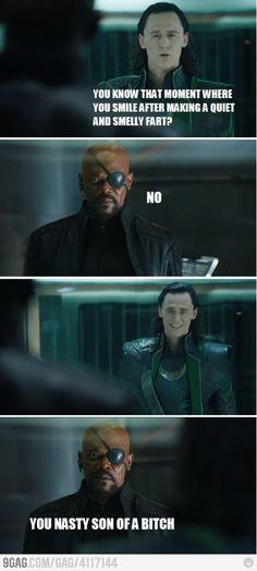Loki Farted