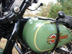 1936 Harley Davidson Flathead 74 VLD Motorcycle...