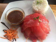 Sashimi, Tempura, Sauce Chinoise, Dessert Chef, Mochi, Vanilla Sauce, Mahi Mahi, Tuna Salad, Naan