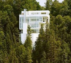 archdailey.com - Douglas house, Richard Mier architect 1973
