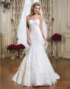 Justin Alexander wedding dresses style 8776 Soutache lace fit and flare…