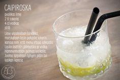 Oravanpesä   Caipiroska   Grappo design Nanny Still Lassi, Drinks, Eat, Food, Design, Drinking, Beverages, Eten, Drink