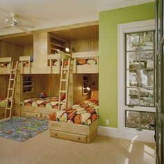 Queen Bunkbeds Design Ideas, Pictures, Remodel, and Decor