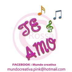 MUNDO ROSSA-PNG: TE AMO PNG-4