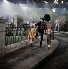 Behind the scenes of Mary Poppins (1963-1964)