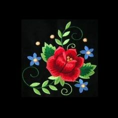 polish1 - Floral Embroidery Design