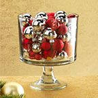 Trifle Bowl Ornament Centerpiece