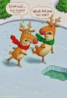 A little Merry Christmas Reindeer humor to brighten your #FrozenFun Friday... Re-Pinned by  http://AccessRealEstateSanCarlos.com  Christmas Humor | Real Estate Humor | Google Search