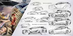 Fiat Punto on Behance