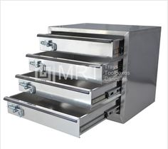 Draw module featuring aluminium and 4 drawers. Come in and so our other toolbox and ute canopy accessories. Contact the MRT team for more info! & Shelf kit for your ute canopy that includes 3 shelves. Built to ...