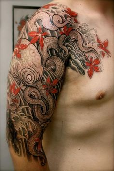 The octopus tattoo has recently grown in popularity across the world. The main reason for this popularity is the versatility the tattoo offers in term of size, color, meaning and placement. Both men and women…