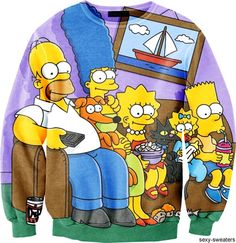 The Simpsons Sweater