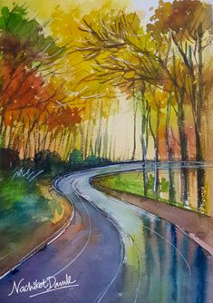 Water Colours show me the path where I can go searching the new shades. And the scenery reflects the discoveries I want to portray. 4th March, Poster Colour, Art Day, Color Show, Searching, Paths, Art Photography, Art Gallery, Scenery