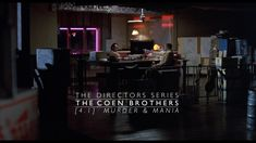 THE DIRECTORS SERIES is an educational/editorial non-profit collection of video and text essays by filmmaker Cameron Beyl, dedicated to appreciating and deconstructing… Coen Brothers, Film School, Classic Films, Film Director, Filmmaking, Contemporary, Editorial, Profile, Collection
