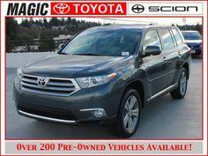 2013 Toyota Highlander, 11,503 miles, $35,980.