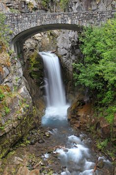 Christine Falls Rainier National Park by Pierre Leclerc Photography