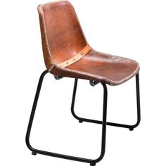 KARE Design Vintage Leather Brown Chair