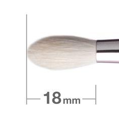 "BJ142 Eye Shadow Brush Round.  Used in ""Glow - The Eldridge Way"""