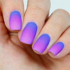 Getting back into ombré nail art at the moment, and asked me to do some nails inspired by his hair so this is what I came up with! Hope everyone is having an amazing day! Cute Nail Art, Cute Nails, Pretty Nails, Nail Polish Designs, Nail Polish Colors, Nail Designs, Nail Picking, Unicorn Nails, Sexy Nails