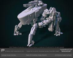 ArtStation - Skynet cavalry tier 4, Sergey Kolesnik