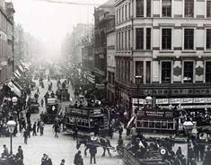 Argyle Street Horse Trams, Glasgow