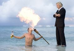 With his eyes fixed firmly in front, kite surfer Sir Richard Branson seems not to have noticed that he has a naked girl clinging to his back. Richard Branson, His Eyes, Role Models, Naked, Concert, Life, Pictures, Templates, Concerts