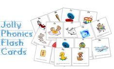 Jolly Phonics Flash Cards