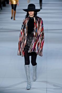 Saint Laurent Fall 2014<<<Pinning for those boots!!!