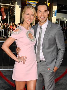 Anna Camp and Skylar Astin Broadimage/REX/Shutterstock By Aili Nahas AT PM EDT Aca-awesome! Pitch Perfect costars Anna Camp and Skylar Astin are married, PEOPLE confirms utterly. The couple, who began relationship in June wed in an outdoor ceremony on. Pitch Perfect Movie, Anna Camp, Skylar Astin, Outdoor Ceremony, Becca, Good Movies, Entertaining, Shirt Dress, Couples