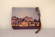 Le Sirenuse at Shutters Dopp Kit. 2-sided with Shutters on one side and Le Sirenuse on the other.