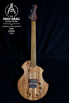 Exhibitor at The Holy Grail Guitar Show 2014: Sam Evans, Cardinal Instruments, USA http://www.cardinalinstruments.com https://www.facebook.com/pages/Cardinal-Instruments/122661538810 http://holygrailguitarshow.com