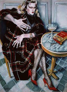 REGBIT1: Pintura de Margot Lazar