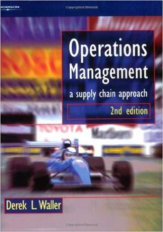 """The author's original approach treats operations management and the supply chain as an integrated system. This concept equips the reader with a much deeper understanding, than will be gained from """"standard"""" operations management texts, of the vital relationship between the supply chain and all other parts of business whilst drawing on examples from both the manufacturing and services sectors. COTE : 141.55 WAL"""