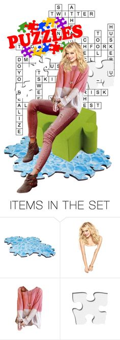 """""""Everyone loves a good puzzle"""" by fashion-film-fun ❤ liked on Polyvore featuring art"""
