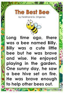 English Poems For Kids, Learning English For Kids, English Lessons For Kids, Learn English Words, First Grade Reading Comprehension, Phonics Reading, Reading Comprehension Worksheets, Reading Passages, English Phonics