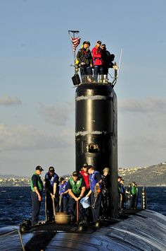 USS Alexandria arrives in Greece. by Official U.S. Navy Imagery, via Flickr