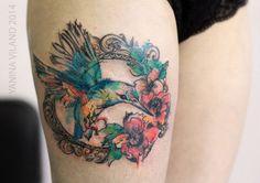 hummingbird by Yanina-Viland