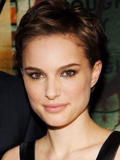 Natalie Portman's pixie cut | Woman's Day