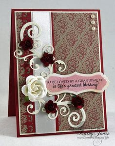 Becca Feeken Diamond Filigree and Happy Occasion Belly Band Two | JustRite Papercraft Inspiration Blog