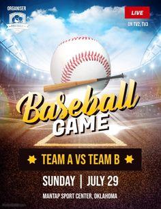 baseball fundraiser flyer template.html